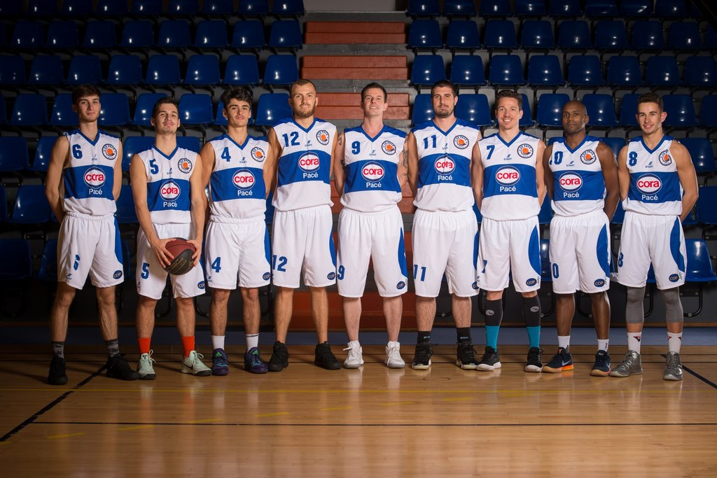 Seniors Masculins 1 - CO Pacé Basket