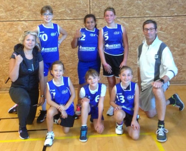 U11 F2 - CO Pacé Basket