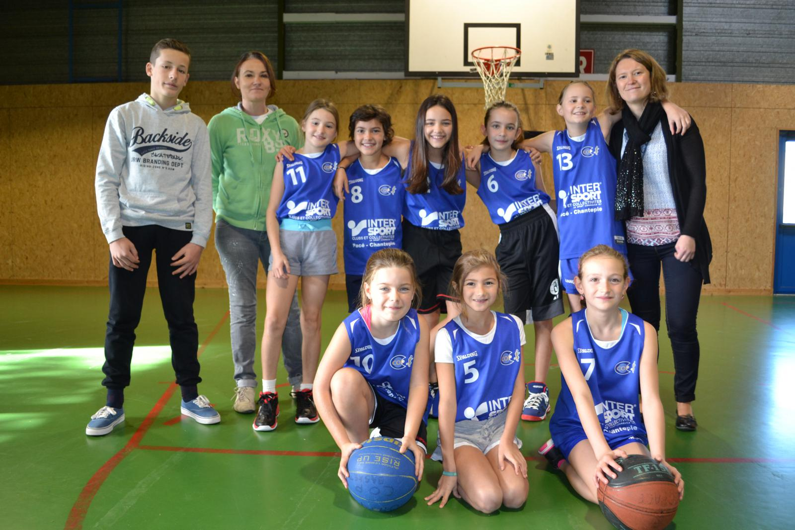 U11 F3 - CO Pacé Basket