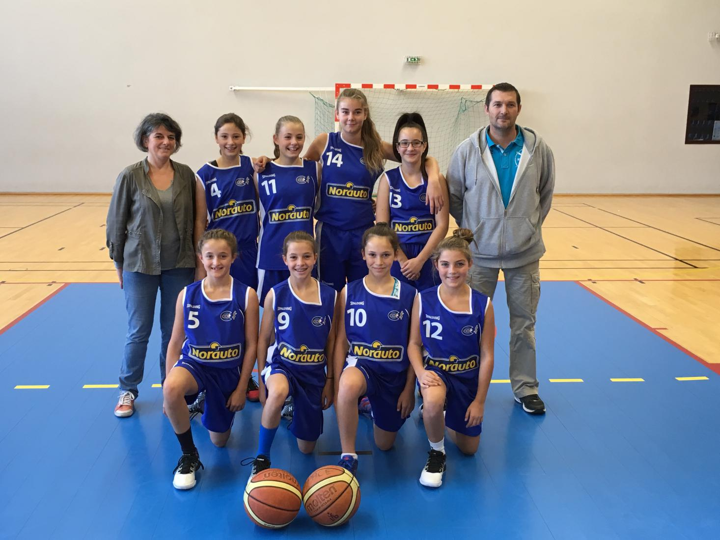 U13F1 - CO Pacé Basket