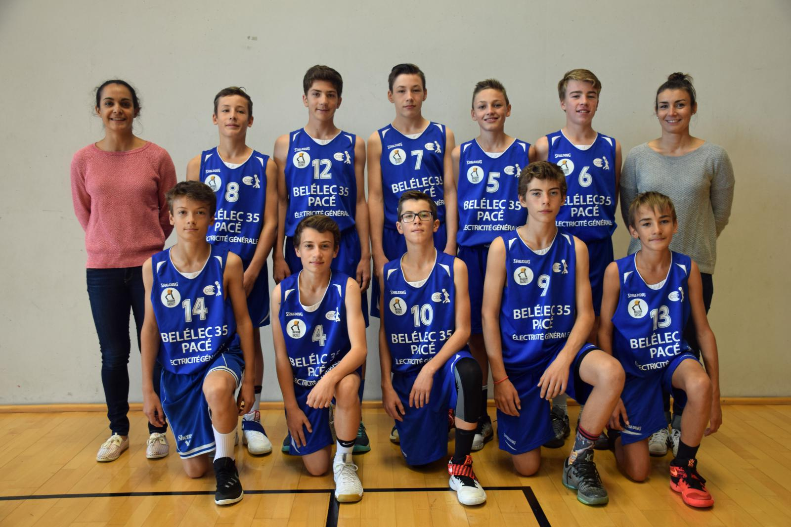 U15 M2 - CO Pacé Basket