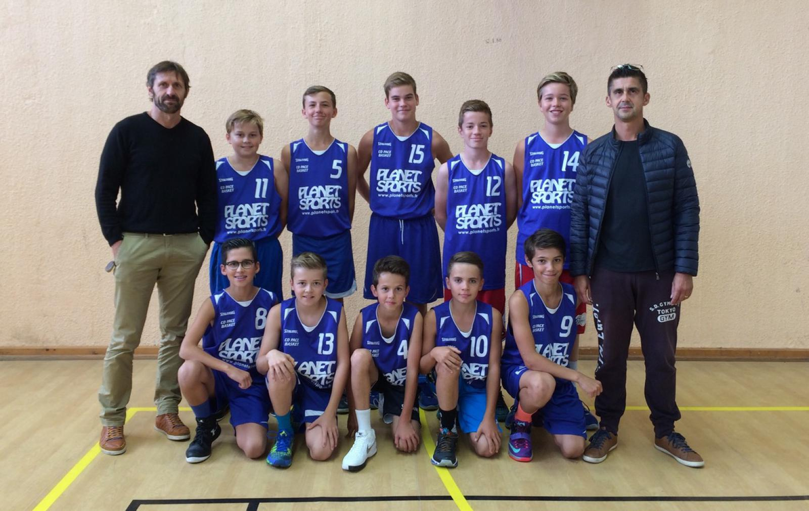 U15 M3 - CO Pacé Basket