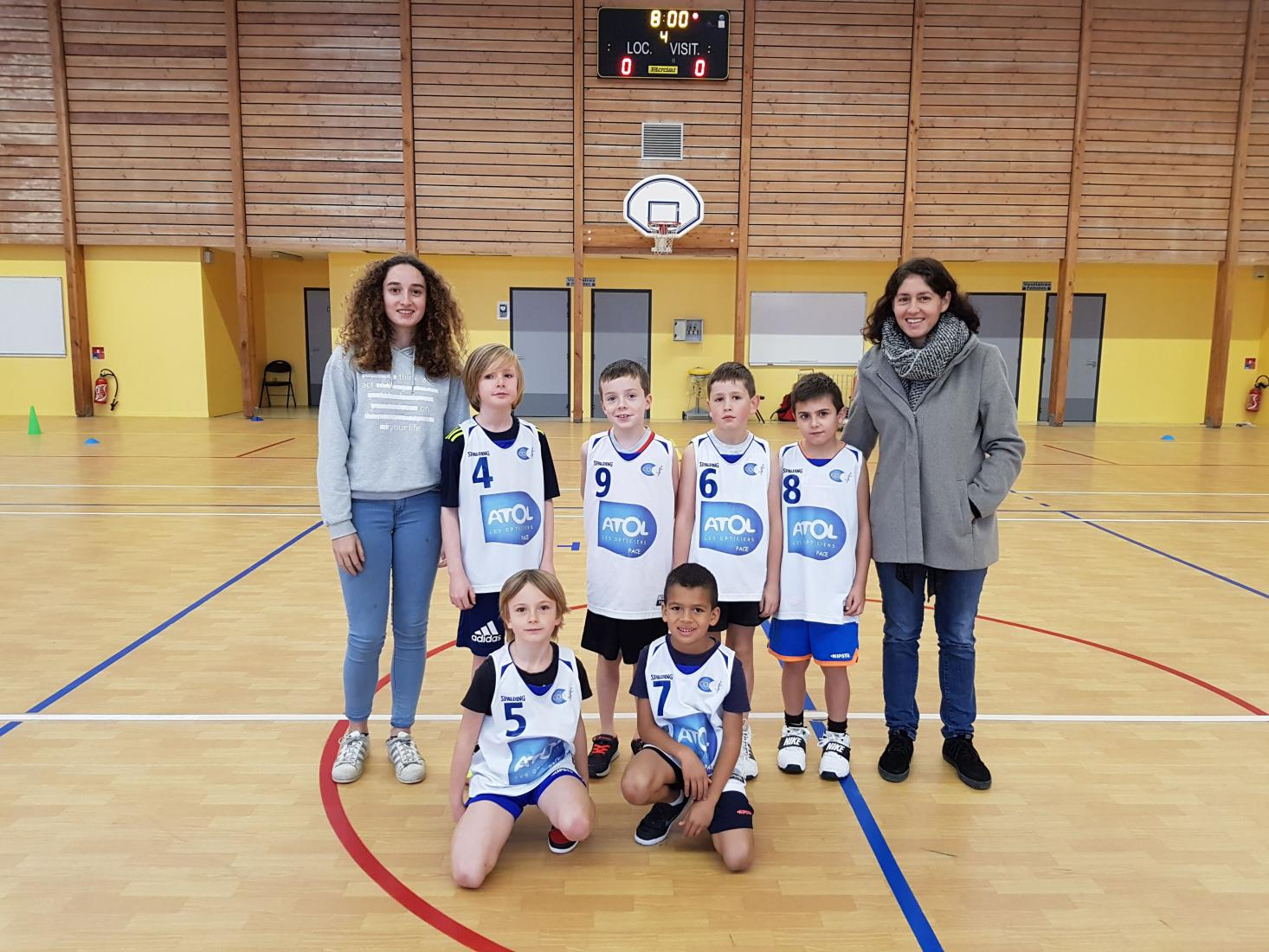 U09 M2 - CO Pacé Basket