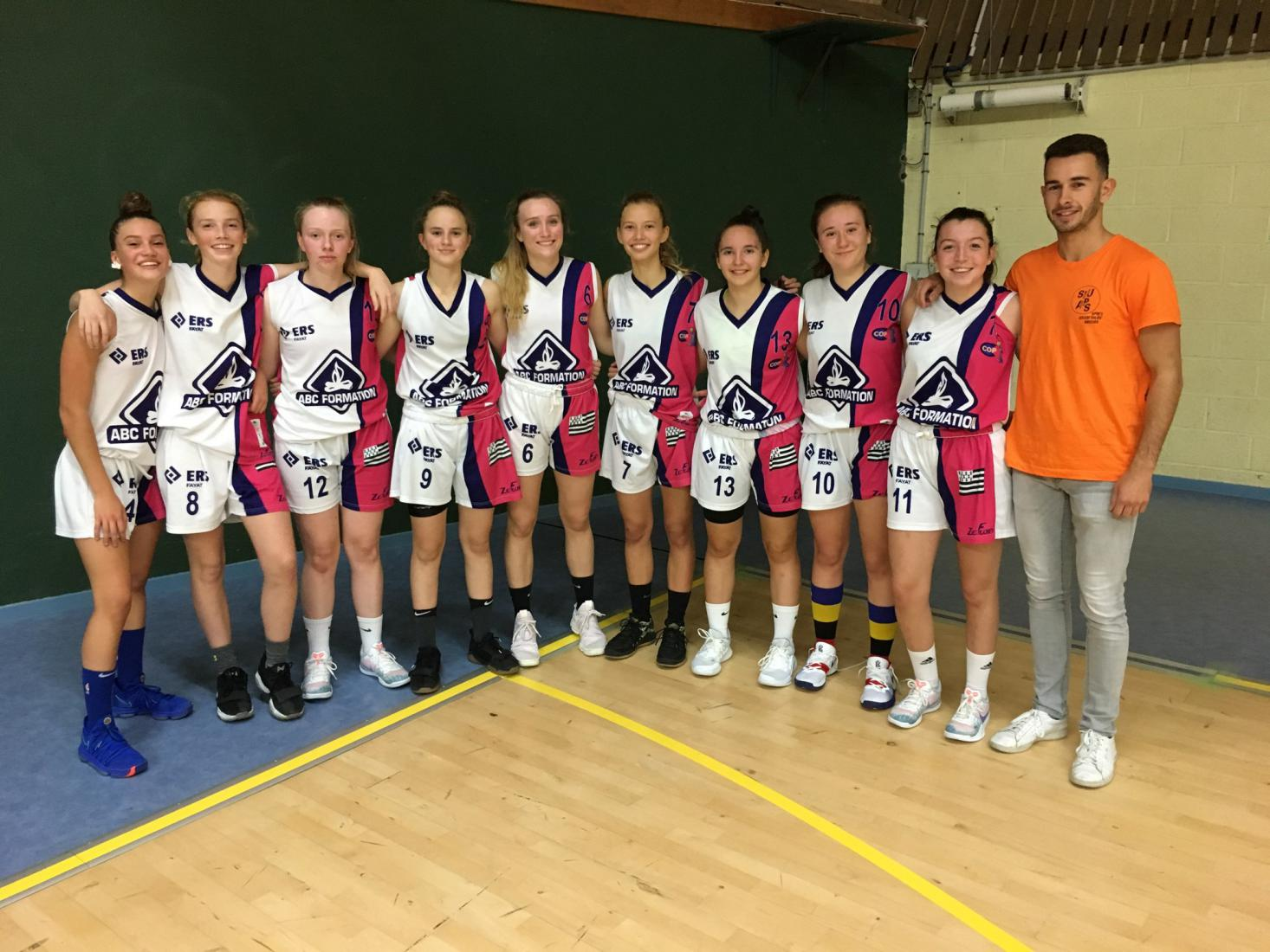 U18 F1 - CO Pacé Basket