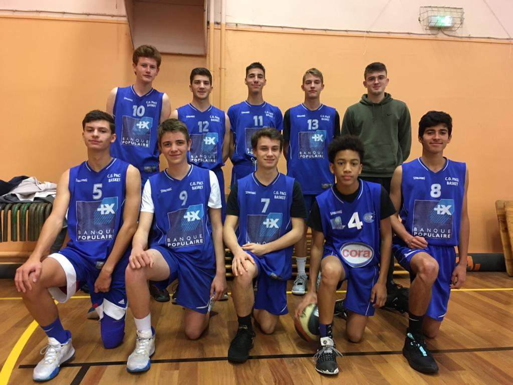U17 M2 - CO Pacé Basket