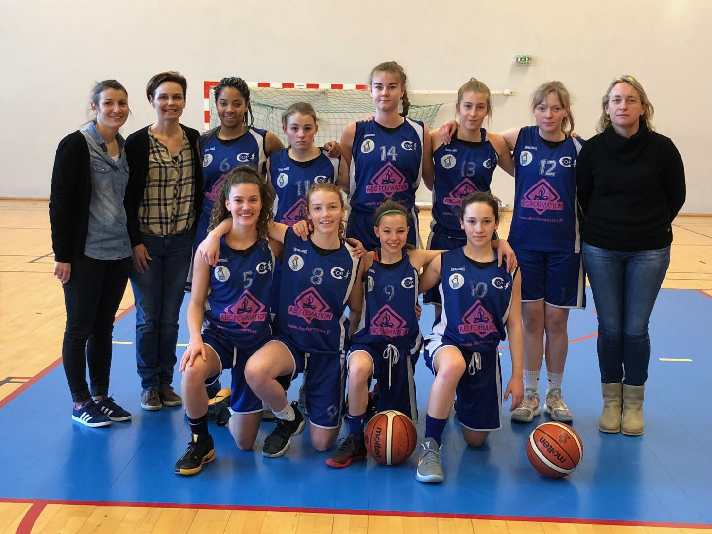 U15 F1 - CO Pacé Basket