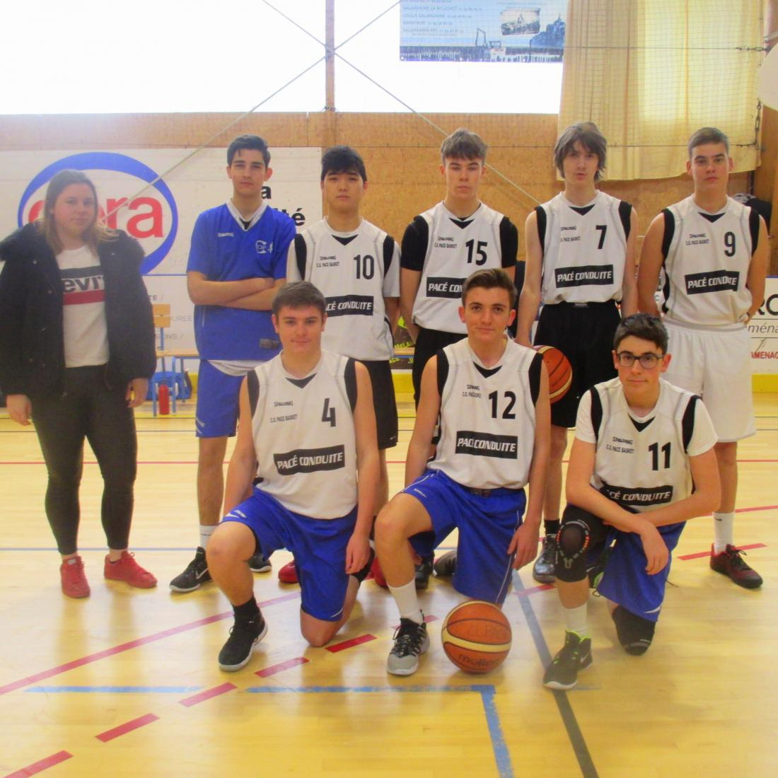 U17 M3 - CO Pacé Basket