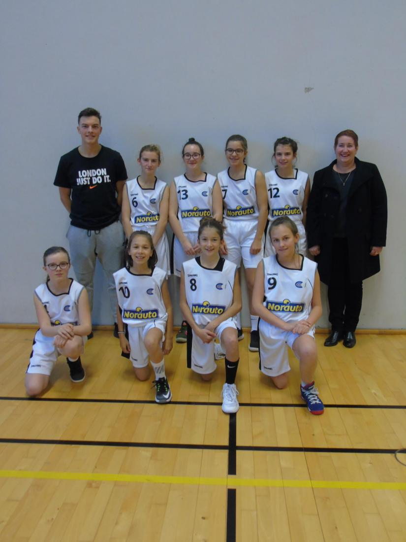 U15 F2 - CO Pacé Basket