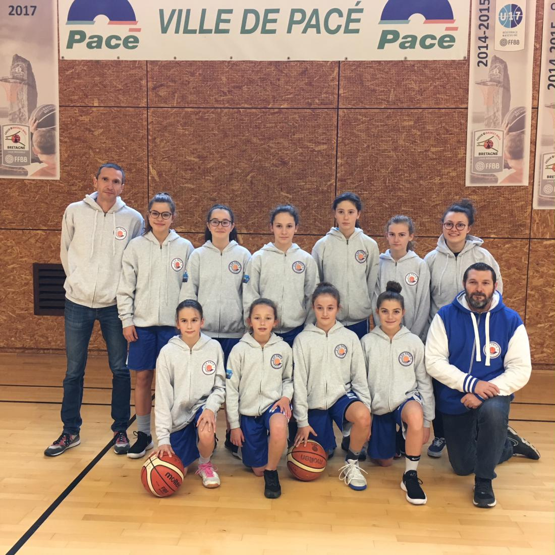 La team pour le tournoi International 2018