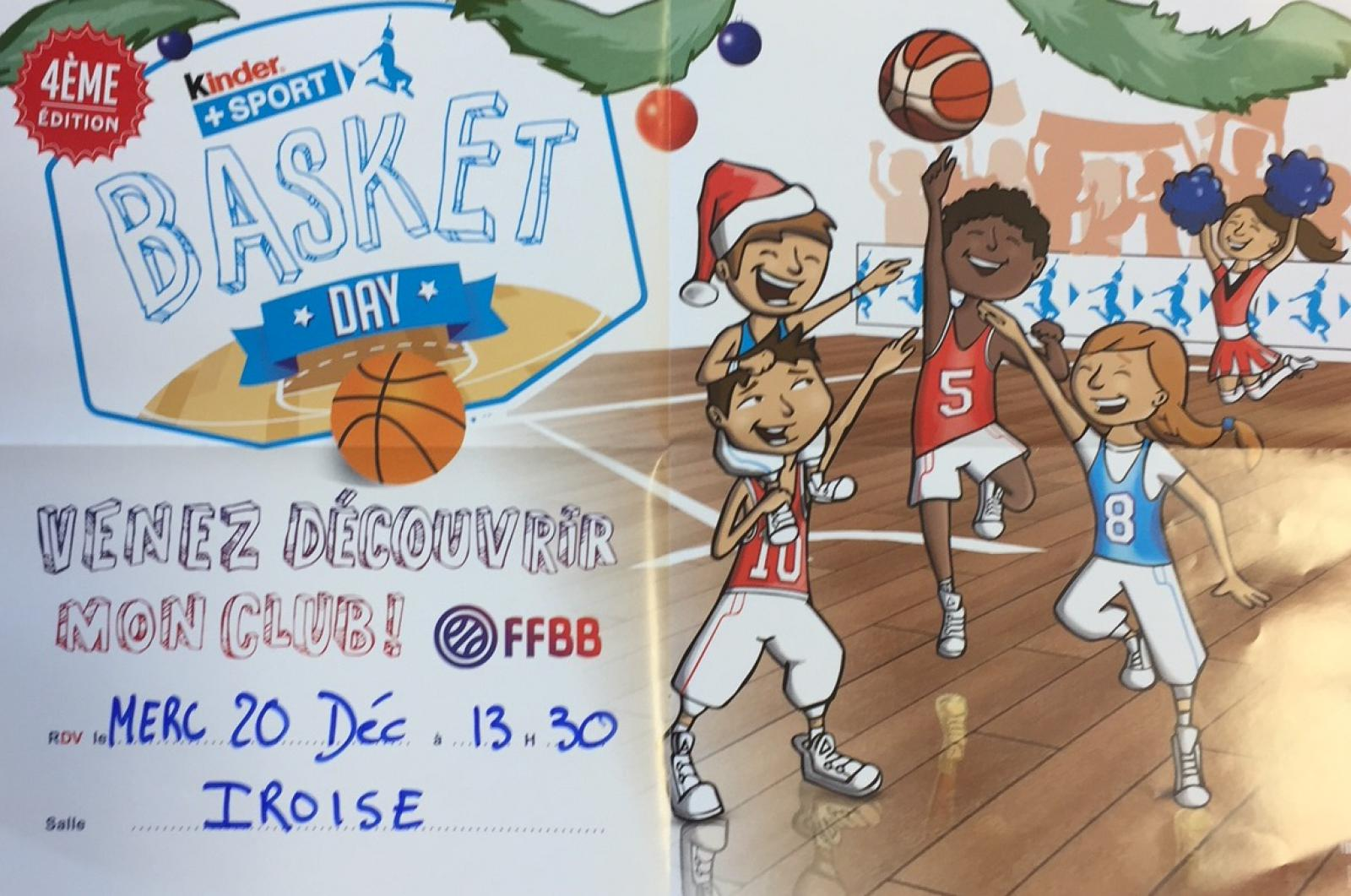 Basket Kinder DAY