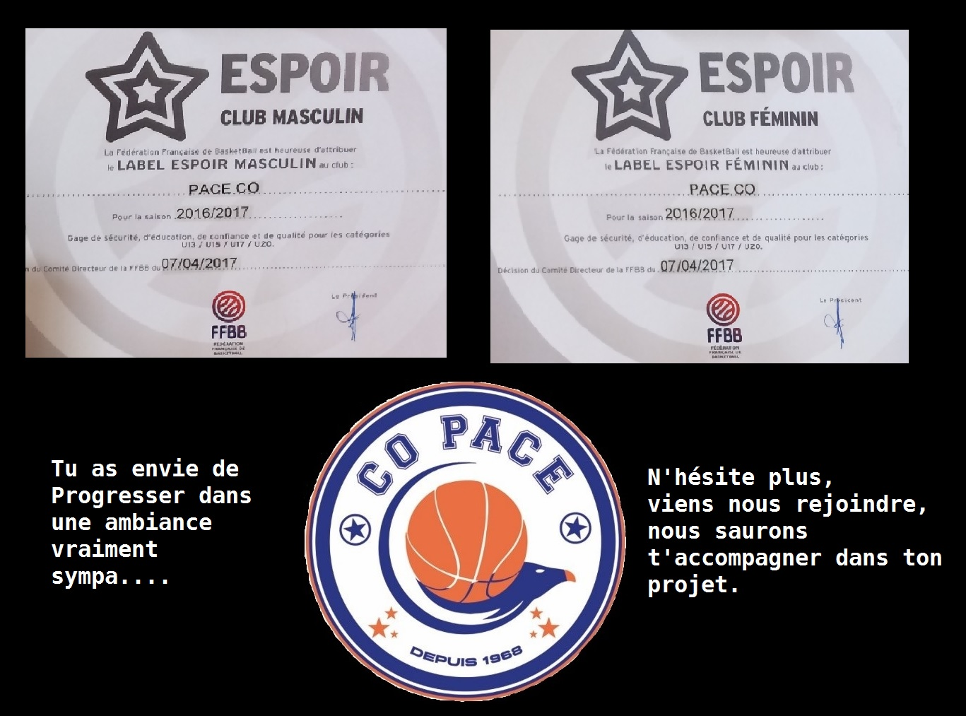 Logo CO Pacé Basket